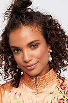 A.V. Max Cradled Double Pearl Earrings by at Free People