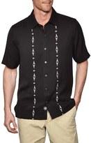 Nat Nast 'Wooster' Regular Fit Embroidered Camp Shirt