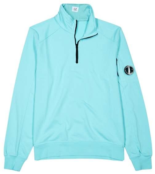 C.P. Company Light Blue Cotton Sweatshirt