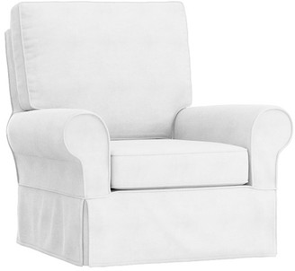 Pottery Barn Kids PB Kids Comfort Slipcovered Swivel Glider, In-Stock