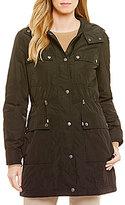 Pendleton Snap Pocket Hooded Nylon Anorak Coat
