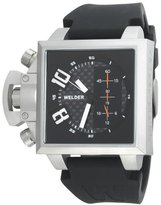 Welder Men's K25B-4603 K25B Chronograph Stainless Steel Square Watch