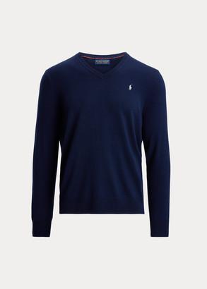 Ralph Lauren Washable Merino V-Neck Sweater