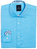 Tailorbyrd Boys' Twill Button-Down Shirt