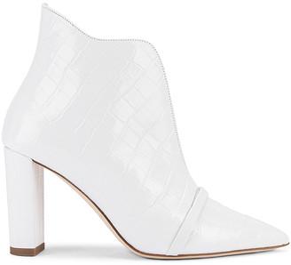 Malone Souliers Clara 85 Heel in White | FWRD