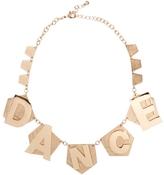 Asos Dance Necklace - Gold