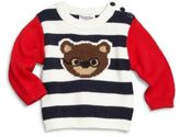 Hartstrings Baby's Striped Cotton Sweater