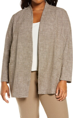 Eileen Fisher Tweed Jacket