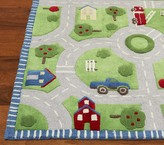 Pottery Barn Kids Play in the Park Road Rug 5' x 8'