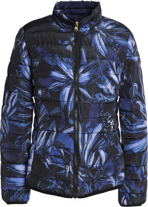 Just Cavalli Quilted Printed Shell Jacket