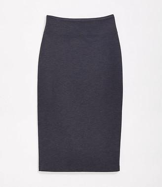 LOFT Lou & Grey Ponte Midi Skirt