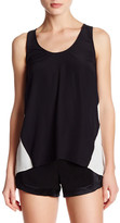 Ramy Brook Jacob Colorblock Silk Blend Tank