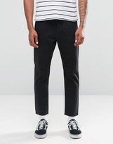 Cheap Monday In Law Tapered Jeans Rinse Black Cropped