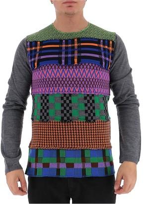 Comme des Garcons Patterned Knit Jumper