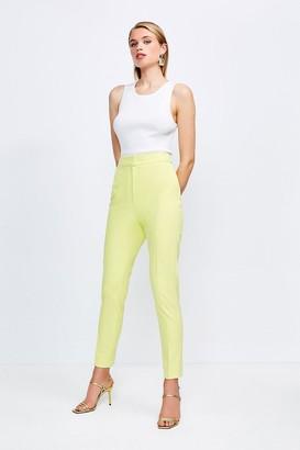 Karen Millen Skinny Stretch Tailored Trousers