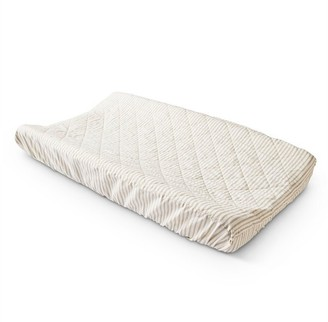 Pehr Changing Pad Cover Stripe Pebble