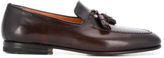 Santoni Carlos tassel loafers