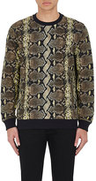 Givenchy Men's Python-Print French Terry Sweatshirt