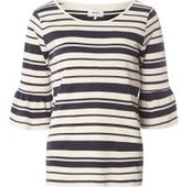 Dorothy Perkins Womens **Only Multi Coloured Stripe Jumper- Blue