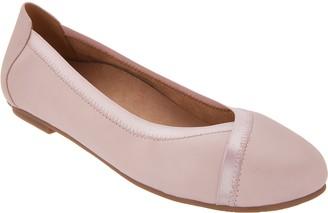 Vionic Leather Ballet Flats - Caroll