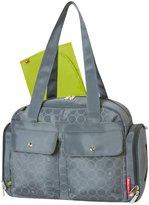 Fisher-Price Duffle Diaper Bag - Grey Circles