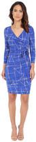 NYDJ Antoinette Paradise Flourish Wrap Dress