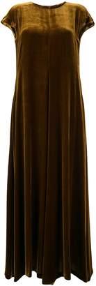 Aspesi long velvet dress