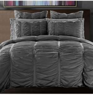 California Design Den Cotton 3-Piece Duvet Cover Set, Full/Queen Bedding