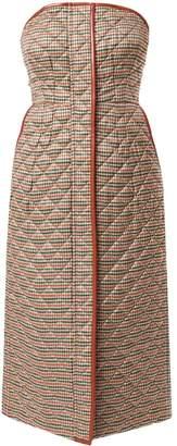 Anteprima Pied De Poule Fuido dress