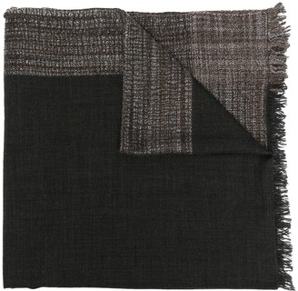 Faliero Sarti Two-Tone Knitted Scarf