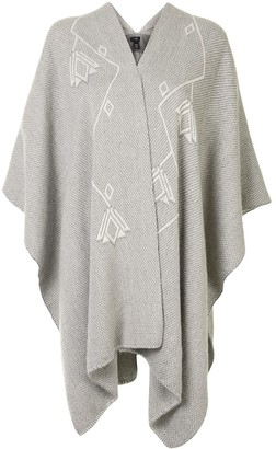 Voz Copihue knitted duster