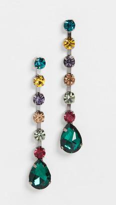 Theia Multi Stone Drop Earrings