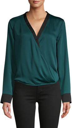 BCBGMAXAZRIA Long-Sleeve Top
