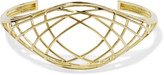 Noir Gold-tone bangle