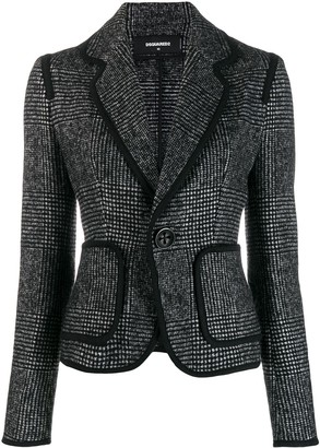 DSQUARED2 Glen check blazer