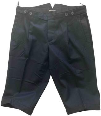 Miu Miu Black Wool Shorts