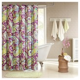 Nobrand No Brand Maya Paisley Print Microfiber Shower Curtain - Multi