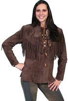 Scully Boar Suede Fringe Jacket L9 Tall (Women's)