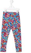 Ralph Lauren floral print leggings - kids - Cotton/Spandex/Elastane - 3 yrs