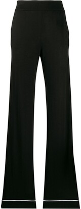 Barrie High-Waisted Trousers