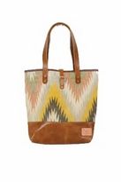 Will Leather Goods Dhurrie Tote Bag
