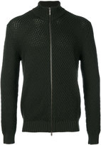 Etro chunky knit zip cardigan - men - Wool - S