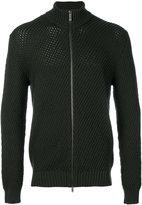 Etro chunky knit zip cardigan