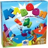Blue Orange Games Kaboom: A Mad Dash To Build Or Crash! Action Game