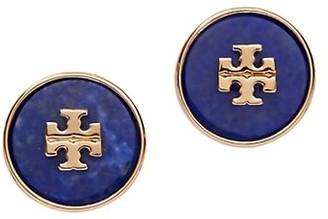 Tory Burch Kira Lapis Stud Earrings