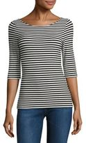 Theory Yorisa Striped Tee