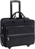 McKlein McKleinUSA Franklin 15.6 Nylon Detachable -Wheeled Laptop Briefcase
