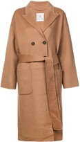 Thumbnail for your product : Anine Bing Dylan belted double-breasted coat