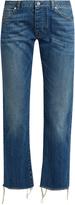 Nili Lotan Boyfriend mid-rise slim-leg cropped jeans