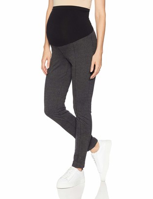 Motherhood Maternity Women's Maternity Ponte Secret Fit Belly Ankle Skinny Pant